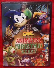DICs Animated Christmas Blast (DVD, 2008, 2-Disc Set) Anime Sonic Hedgehod NEW