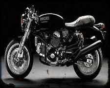 DUCATI Sport 1000 biposta A4 Foto Impresión moto antigua añejada De