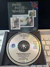 PERAHIA*CBS/SONY JAPAN 1986*NO IFPI/BARCODE*SCHUBERT WANDERER FANTASIE ETC*VGC