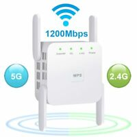 Wifi Extender Wireless Range Booster Repeater Signal 1200mbps Network Dual Band