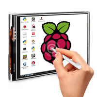 3.5 Inch  Display Touch Screen LCD Monitor + Case+Touch Pen for Raspberry Pi 4B