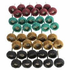 Abrasive Wheel Buffing Polishing 40 Pcs 25mm Grinding Whee Dremel Rotary set
