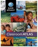 Classroom Atlas, Paperback by Rand McNally (COR), Brand New, Free shipping in...