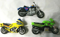 Wolf pack blue chopper harley Sports bike +1 broken handlebar green Motorcycle