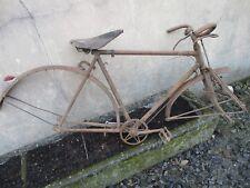 cadre de vélo ancien frein a baguettes.