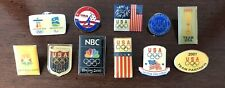 Collectible Olympic pins from 2000 2001 2004 2008 2010 USA Olympic Committee