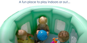 Room To Grow PLAY YARD Inflatable Kids Pool Portable Therapy Spa Playpen 14100