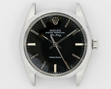 NICE Rolex Vintage 1982 Air-King Ref. 5500 with Desirable Black Dial!