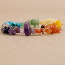 Chakra Stone Boho Hippy Protection Spirit Friendship Bracelet Surfer Wrist Band
