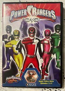 LOTS DVD Power Rangers - EDITION ATLAS (certains sous blister),,