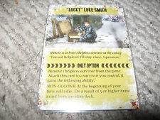 """NEW DEAD OF WINTER """"Lucky"""" Luke Smith Promo Card Watch it Played"""