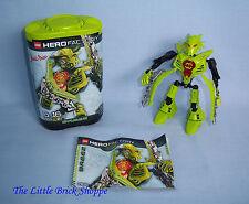 LEGO Hero Factory 7165 Breez-Boxed e completo di istruzioni