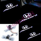 2x LED Accord Logo Laser Projector Door Puddle Light For Honda Accord 2003-2012