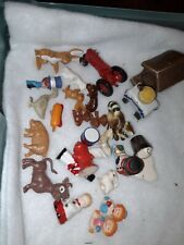 Lot of Christmas Village Accessories