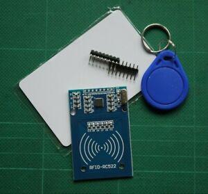 RFID Reader Module Sensor MFRC-522 Bundle with Card and Keyring Fob Multibuy