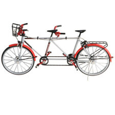1:10 Scale Diecast Bicycle Tandem Bike Model Replica Toy Collection Gift Red