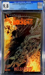 LOCKE & KEY / THE SANDMAN #1 in CGC 9.8 NM/MINT a DC comic - Variant cover
