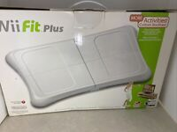 Nintendo Wii Fit Plus with Balance Board Wii Fit Plus Game