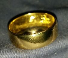 NEW THIS YEAR 24K SOLID 999 GOLD BULLION SZ5-8 RING JOEY NICKS ANARCHY JEWELRY D