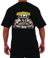 Lowrider Clothing Og Cruizer T Shirt Old School Street Hustler Authetic Men's