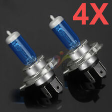 4x H4 100/90W 12V Xenon White 5000K Halogen Headlight Car Head Light Globes Bulb