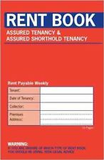 Rent Book 16 Page Assured Tenancy & Assured Shorthold Tenanacy Book (C237)