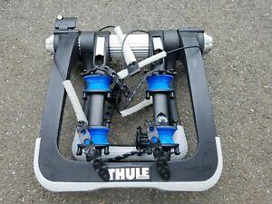 Thule Raceway Pro 2 Bike Rack Rear Trunk Mount with Key - Read Description