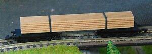 DB Bogie wood wagon   by MARKLIN   Z Gauge (B)