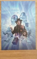 Doctor who A3 poster 4th doctor tom baker
