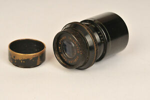 """Dallmeyer Popular 1 1/2"""" f/4 D Mount Cine Lens"""