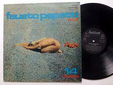 FAUSTO PAPETTI Sax LP CHEESECAKE Italy Jazz Lounge 1975   #292
