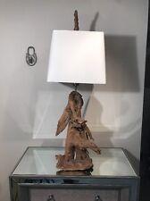 HEAVY LARGE DRIFTWOOD ORGANIC LAMP NAKASHIMA JERE ERA ONE OF A KIND STUNNING!!!