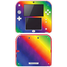 Faceplates, Decals & Stickers Sopiguard 3m Flip Psychedelic Rainbow Vinyl Skin Full Body For New 2ds Xl Ll