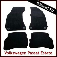 VOLKSWAGEN PASSAT Estate 1997 1998...2005 Tailored Carpet Car Mats (Round Clips)
