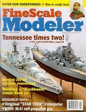 FSM FEB 98 WW2 ITALIAN SEMOVENTE M.41_DASH 80 B707_USS TENNESSEE_Il-2M3_NCC-1701