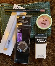New In Packaged Mixed Makeup Lot With Green Ipsy Bag