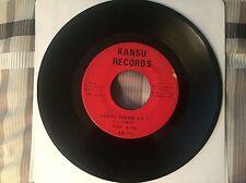 "EARL KING ""Street Parade PT. 1&2"" New Orleans Soul Funk 45 on KANSU 101 VG"