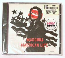 MADONNA American Life. SEALED. Radio Edit ENHANCED CD 16658-#1. USA. MINT.