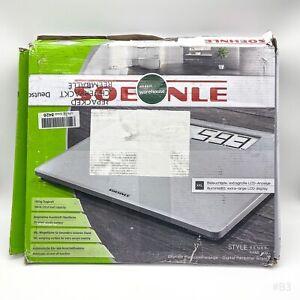 Soehnle Style Sense Safe 200 Personen Digitalwaage mit extragroßer LCD-Anzeige