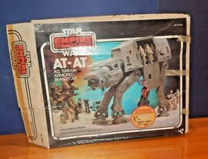 Vintage Star Wars AT-AT Walker working Electrics with Box