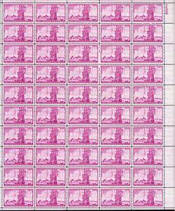 U.S. Mint Sheet Stamp #1027 3¢ New York City OGNH