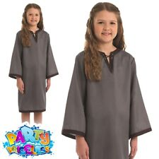 18fca4a48 Child Girls Saxon Girl Costume Medieval Middle Ages Fancy Dress Large  8-10yrs 136cm
