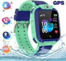 PTHTECHUS GPS Kids Smart Watch Waterproof Phone GPS Tracking Locator Alarm Clock