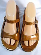 DANSKO Womens Size 10.5 to 11 Euro 41 Bronze Slip on Sandals #B