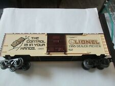 Lionel #6-19937 1995 Toy Fair Boxcar O-Scale