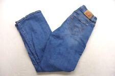 New Levis Womens 529 Mid Rise Curvy Straight Medium Denim Stretch Jeans 30 x 32