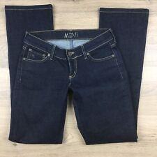 Mavi Women's Jeans Jamie Low Rise Slim Boot Cut Size 25/34 Actual W26 (AQ20)