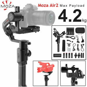 Moza Air2 Load 4.2kg Handheld DSLR Mirrorless Camera Cameras Gimbal Stabilizer S