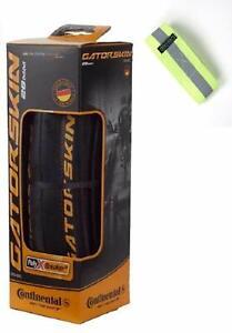 Bike A Mile Continental GatorSkin Bike Tires Folding tire - with Reflective A...