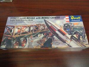 Revell #H-1821:169 Revell Honest John Missile with Mobile Carrier model kit new